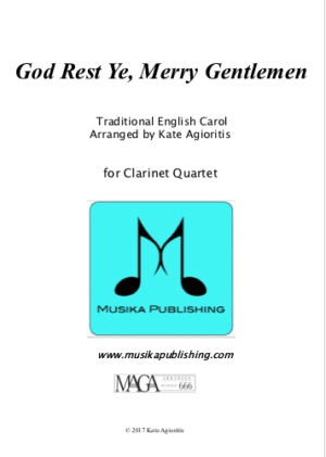 God Rest Ye Merry Gentlemen – Clarinet Quartet