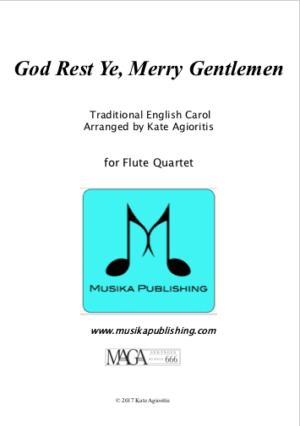God Rest Ye Merry Gentlemen – Flute Quartet