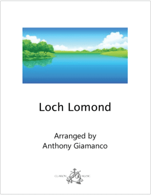 Loch Lomond – Soprano Saxophone and Piano