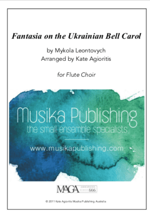 Fantasia on the Ukrainian Bell Carol – Flute Choir