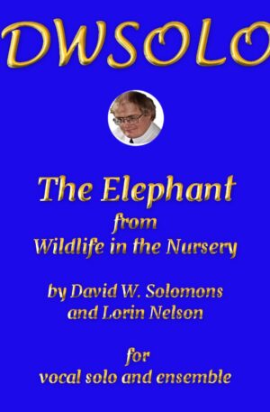 The Elephant for vocal solo and instrumental ensemble