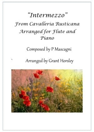 Intermezzo from Cavalleria Rusticana- Flute and Piano