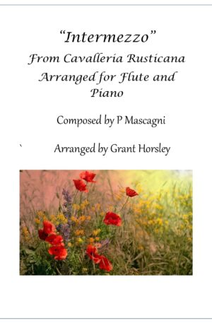 Intermezzo from Cavalleria Rusticana- Flute and Piano