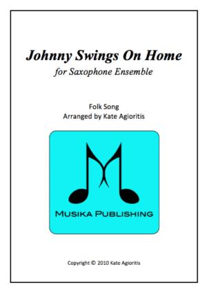 Johnny Swings On Home – Saxophone Ensemble