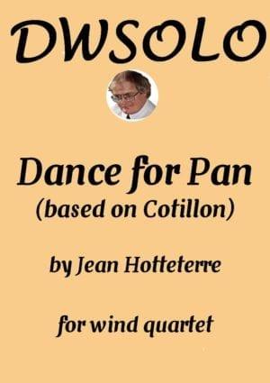Dance for Pan (based on Cotillon) for wind quartet
