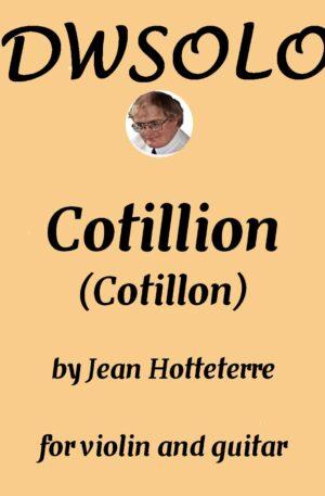 Cotillion (Cotillon) for violin and guitar