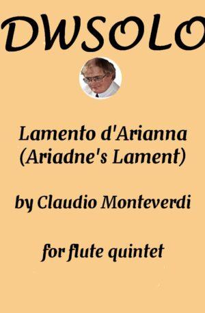 Lamento D'Arianna (3 flutes, 1 alto, 1 bass)