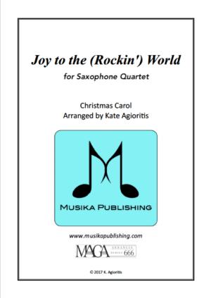 Joy to the (Rockin') World – Saxophone Quartet