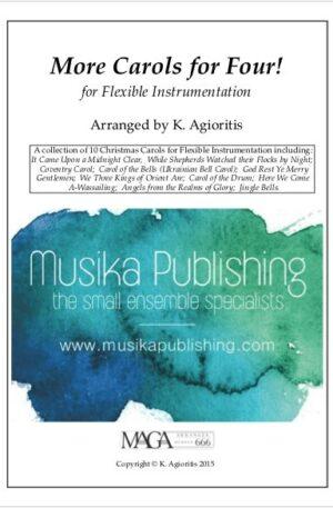 More Carols for Four – Flexible Instrumentation – Full Kit