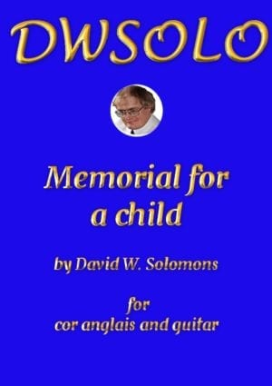Memorial for a child for cor anglais and guitar