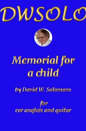Memorial for a child for cor anglais and guitar