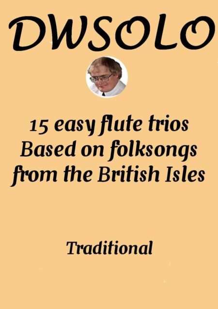cover 15 easy folksongs flute trio