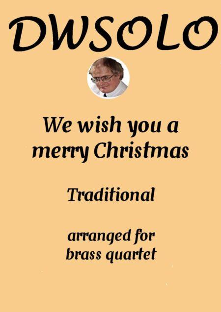 cover merry xmas brass quartet
