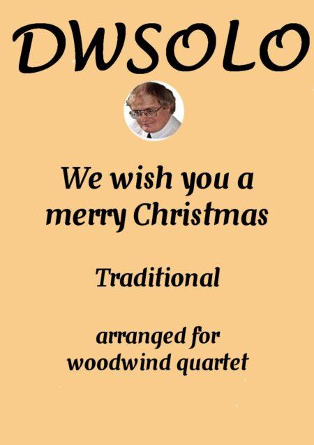 cover merry xmas woodwind quartet