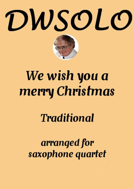 cover merry xmas saxophone quartet