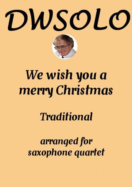 cover merry xmas saxophone quartet