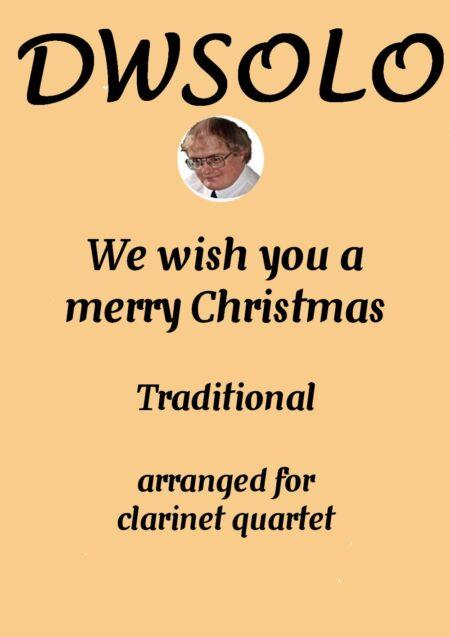 cover merry xmas clarinet quartet