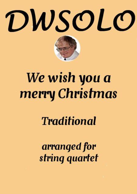cover merry xmas string quartet