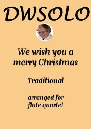 We Wish You A Merry Christmas – Flute Quartet