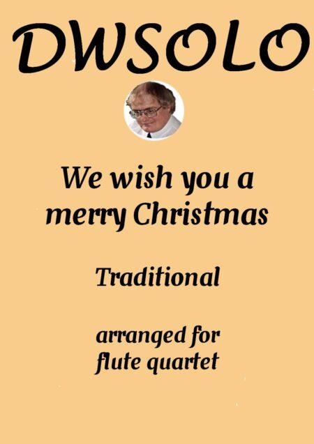 cover merry xmas flute quartet