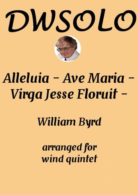 cover alleluia virga jesse wind quintet