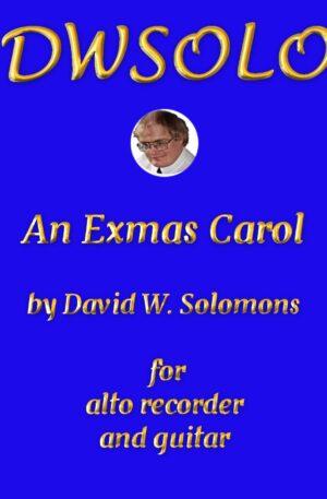 An Exmas Carol for alto recorder and guitar