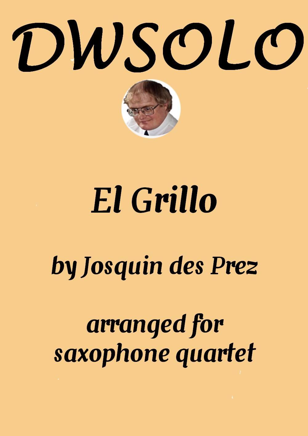 cover el grillo sax quartet