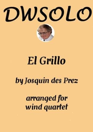 El Grillo (with decorations) for wind quartet
