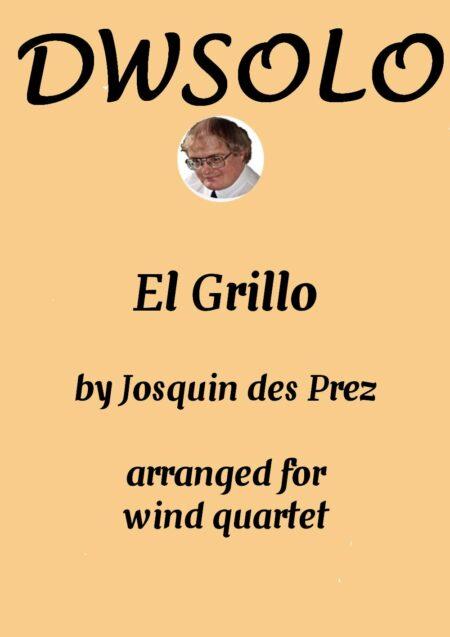 cover el grillo wind quartet
