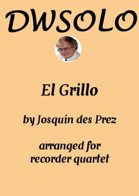 cover el grillo recorder quartet
