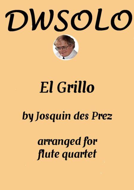 cover el grillo flute quartet