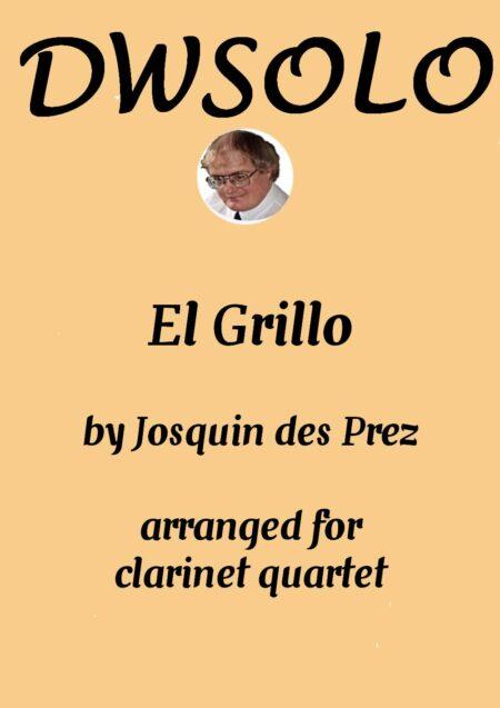 cover el grillo clarinet quartet