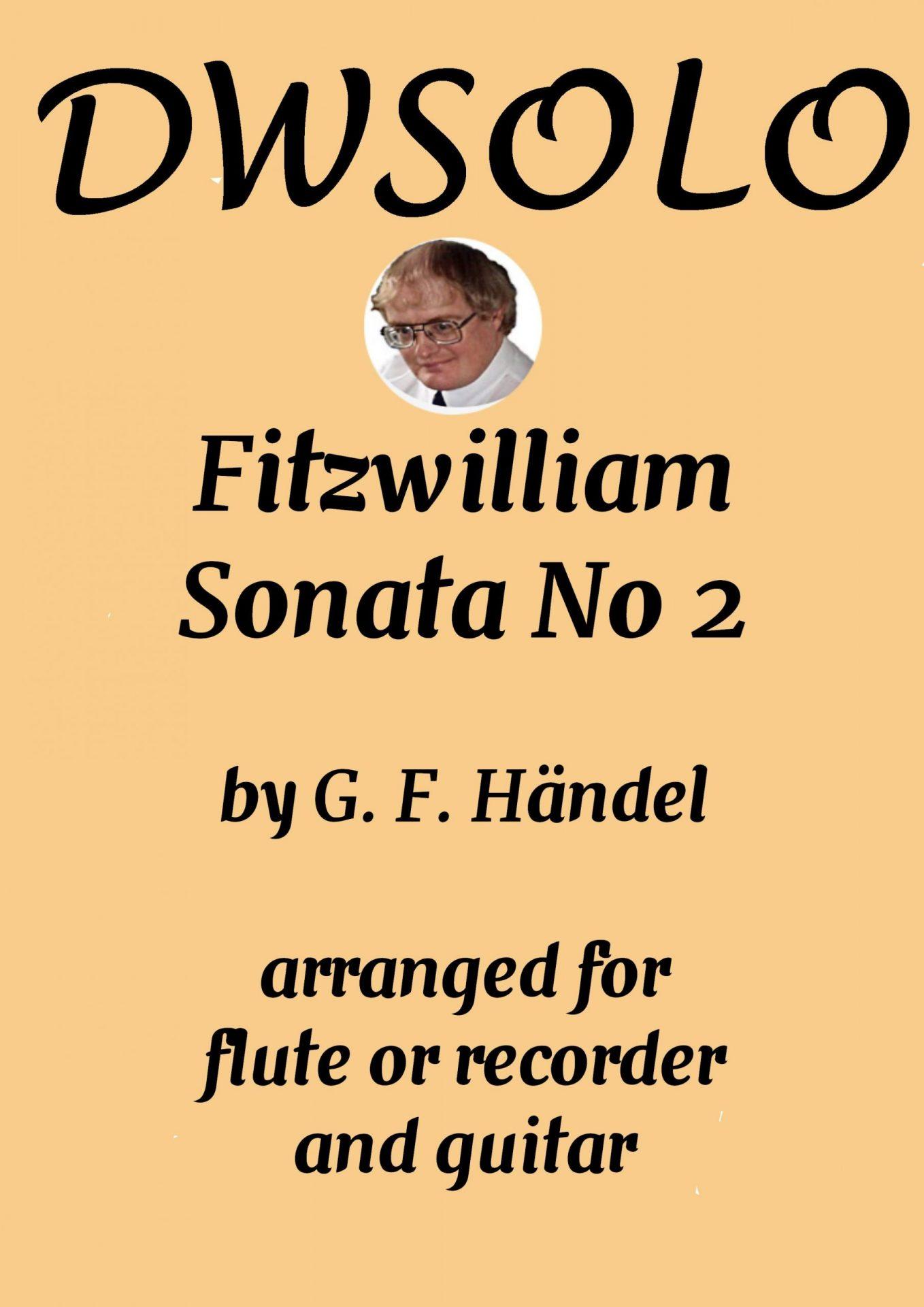 Fitzwilliam Sonata No 2 for alto recorder or flute with guitar accompaniment