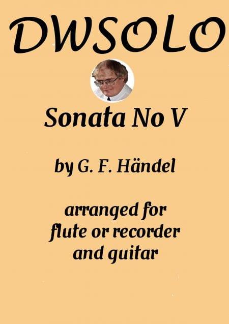 cover handel sonata V scaled