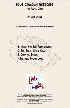Flute Choir – Four Canadian Sketches