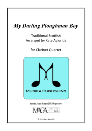 My Darling Ploughman Boy – Clarinet Quartet