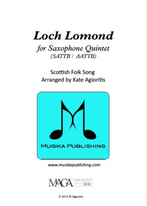 Loch Lomond – Saxophone Quintet