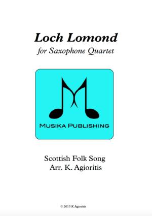 Loch Lomond – Saxophone Quartet