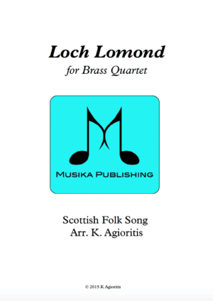 Loch Lomond – Brass Quartet