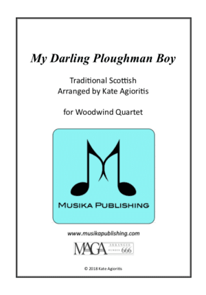 My Darling Ploughman Boy – Woodwind Quartet