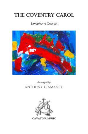 THE COVENTRY CAROL – saxophone quartet
