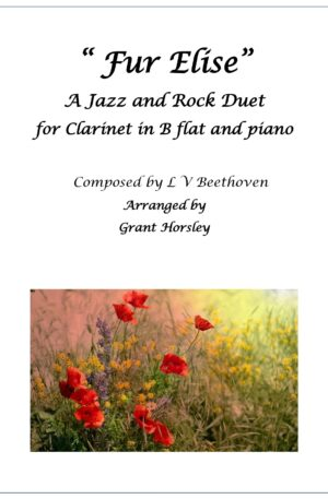 """""""Fur Elise"""" A Jazz and Rock Duet for Clarinet in B flat and Piano"""
