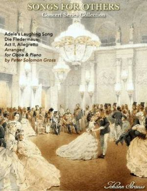 Laughing Song from Die Fledermaus for Oboe and Piano