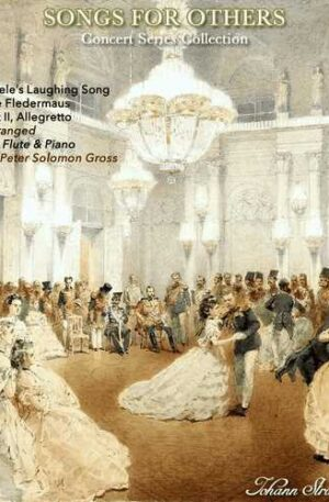 Laughing Song from Die Fledermaus for Flute and Piano