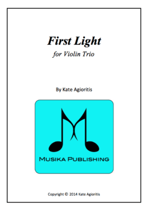 First Light – Violin Trio