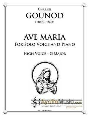 Ave Maria for High Voice in G major