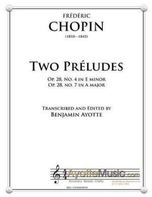 Two Preludes (E minor and A major)