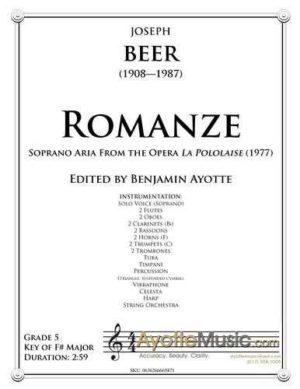 Romanza from La Polonaise