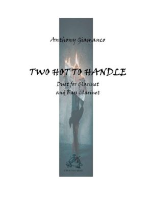 TWO HOT TO HANDLE – B-flat clarinet/bass clarinet duet