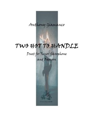 TWO HOT TO HANDLE – tenor sax/bassoon duet